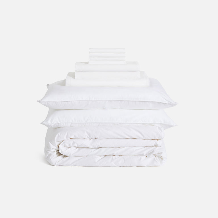 Solid White / Luxe Move-In Bundle