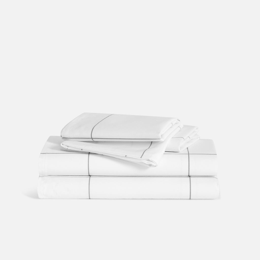Luxe Core Sheet Set - Window Pane / Queen