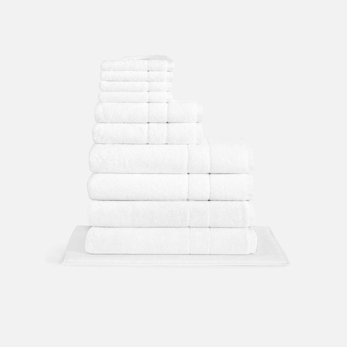 Super Plush Move-In Bundle / White