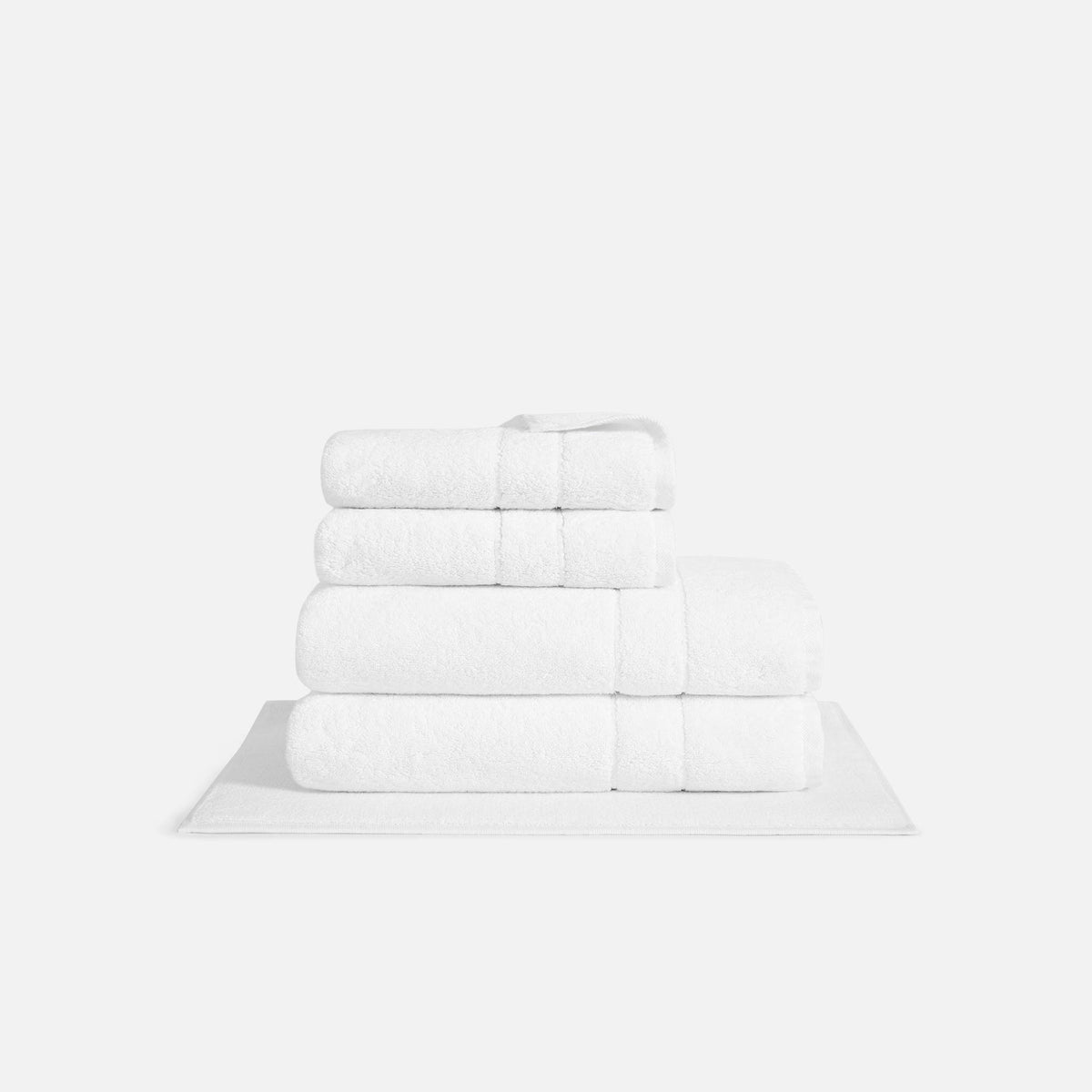 Super Plush Bath Sheet Set / White