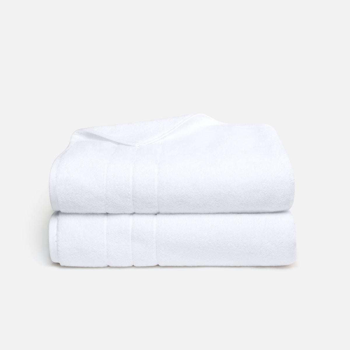Super-Plush Bath Sheets / White