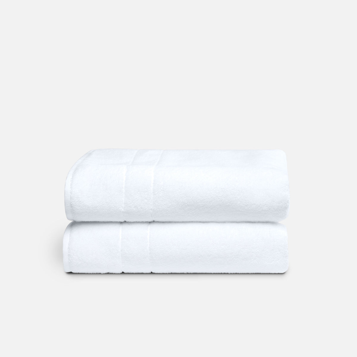 Super-Plush Bath Towels / White