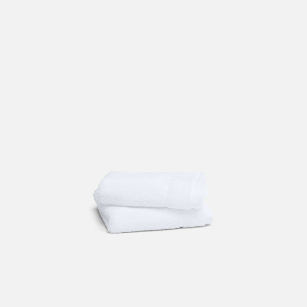 Super-Plush Washcloths - White