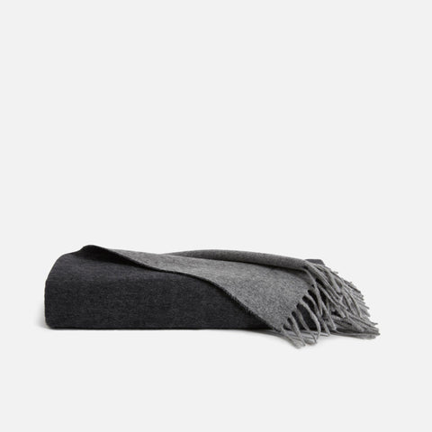 PDP2 Option[Lambswool Throw in Charcoal] MAIN