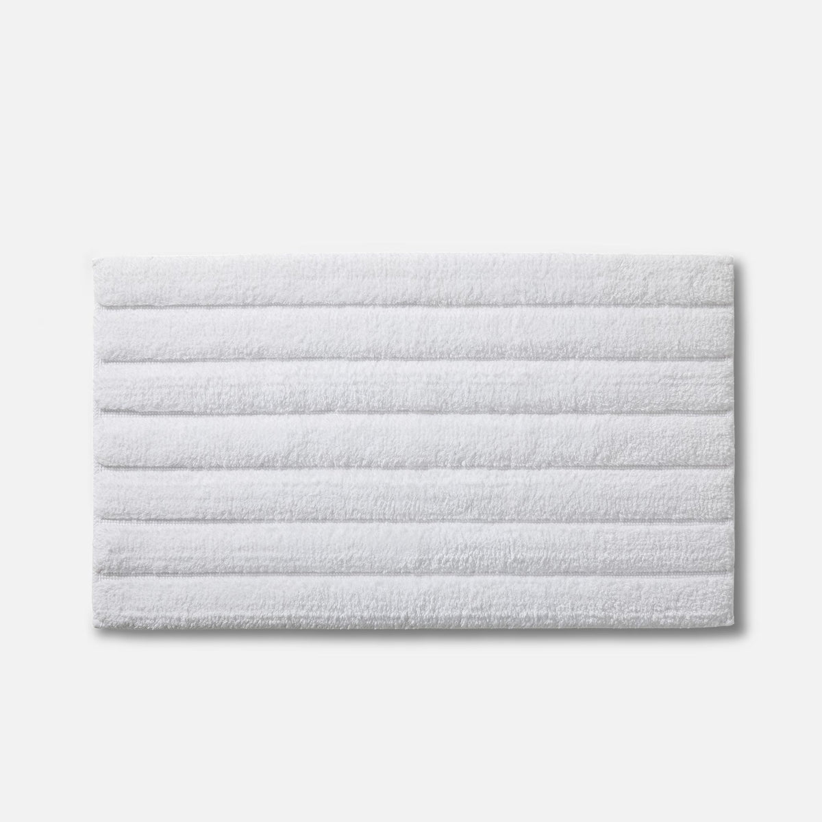 Tufted Bath Rug / White