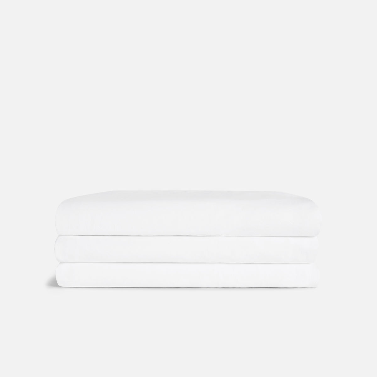 Twill Fitted Sheet - Last Call / White