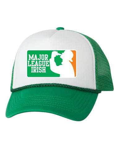 Major league irish dual color trucker hat - ALLNTRENDSHOP
