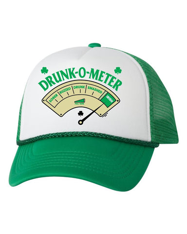 Drunk-O-Meter dual color trucker hat - ALLNTRENDSHOP