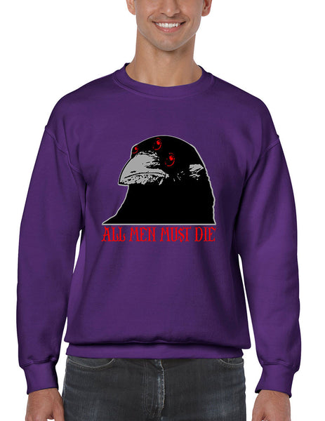 Three-eyed Crow All men must die men sweatshirt - ALLNTRENDSHOP - 3