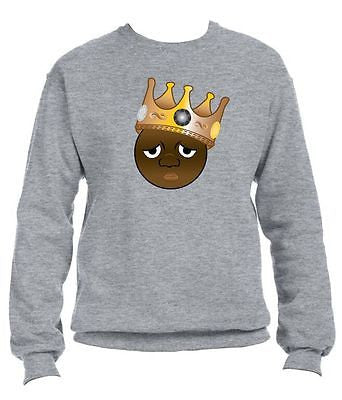 The Notorious Biggie Emoji Sweatshirt - ALLNTRENDSHOP - 4