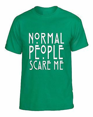 Normal People Scare Me T-shirt - ALLNTRENDSHOP - 2