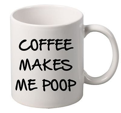 Coffee makes me P**P  Mug - ALLNTRENDSHOP