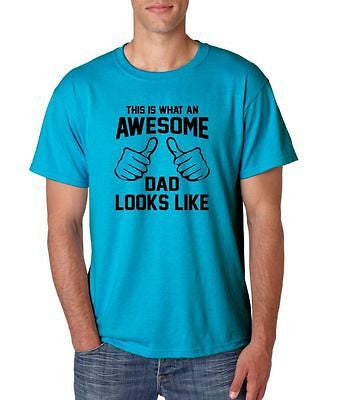 This Is What An Awesome Dad Looks Like Men's T-Shirt - ALLNTRENDSHOP - 3