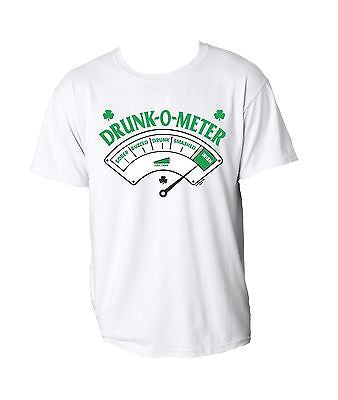 Irish Drunk-0-Meter Saint Patricks T-shirt - ALLNTRENDSHOP