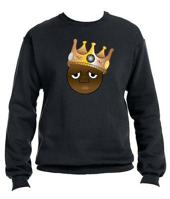 The Notorious Biggie Emoji Sweatshirt - ALLNTRENDSHOP - 1