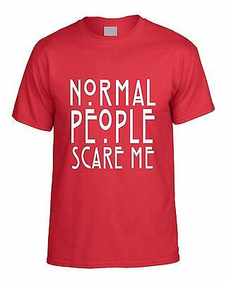 Normal People Scare Me T-shirt - ALLNTRENDSHOP - 3