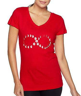 Moon Phases Infinity Women's Sporty V shirt - ALLNTRENDSHOP - 5