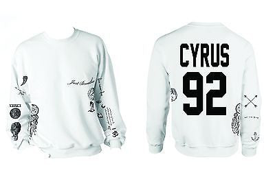Miley Cyrus Tattoo Shirt Unisex Sweatshirt - ALLNTRENDSHOP