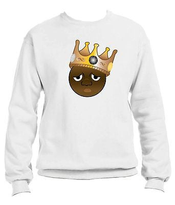 The Notorious Biggie Emoji Sweatshirt - ALLNTRENDSHOP - 2