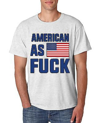 American As F**k Men's T-Shirt - ALLNTRENDSHOP