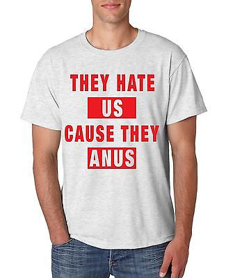 They Hate Us Cause They A**s Man's T-shirt - ALLNTRENDSHOP - 2