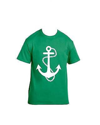 White Anchor T-Shirt - ALLNTRENDSHOP - 6