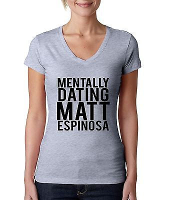 Mentally Dating Matt Espinosa Women's Sporty V Shirt - ALLNTRENDSHOP - 3