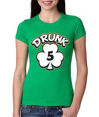 Irish Girl Drunk 1,2,3,4,5,6 Irish   Women's T-Shirt - ALLNTRENDSHOP - 5