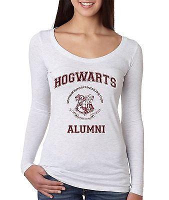 Hogwarts Alumni School Women's Long Sleeve Shirt - ALLNTRENDSHOP