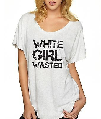 White Girl Wasted Women's Triblend Dolman - ALLNTRENDSHOP - 4