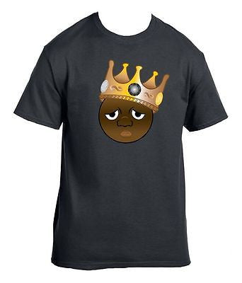 The Notorious B.I.G. Biggie Emoji Men's T-Shirt - ALLNTRENDSHOP - 1