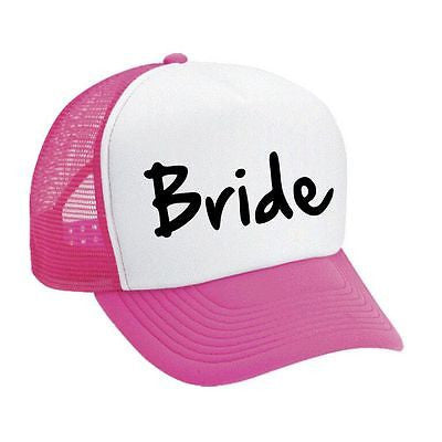 Bride Bachelorette party Dual color Trucker Cap - ALLNTRENDSHOP