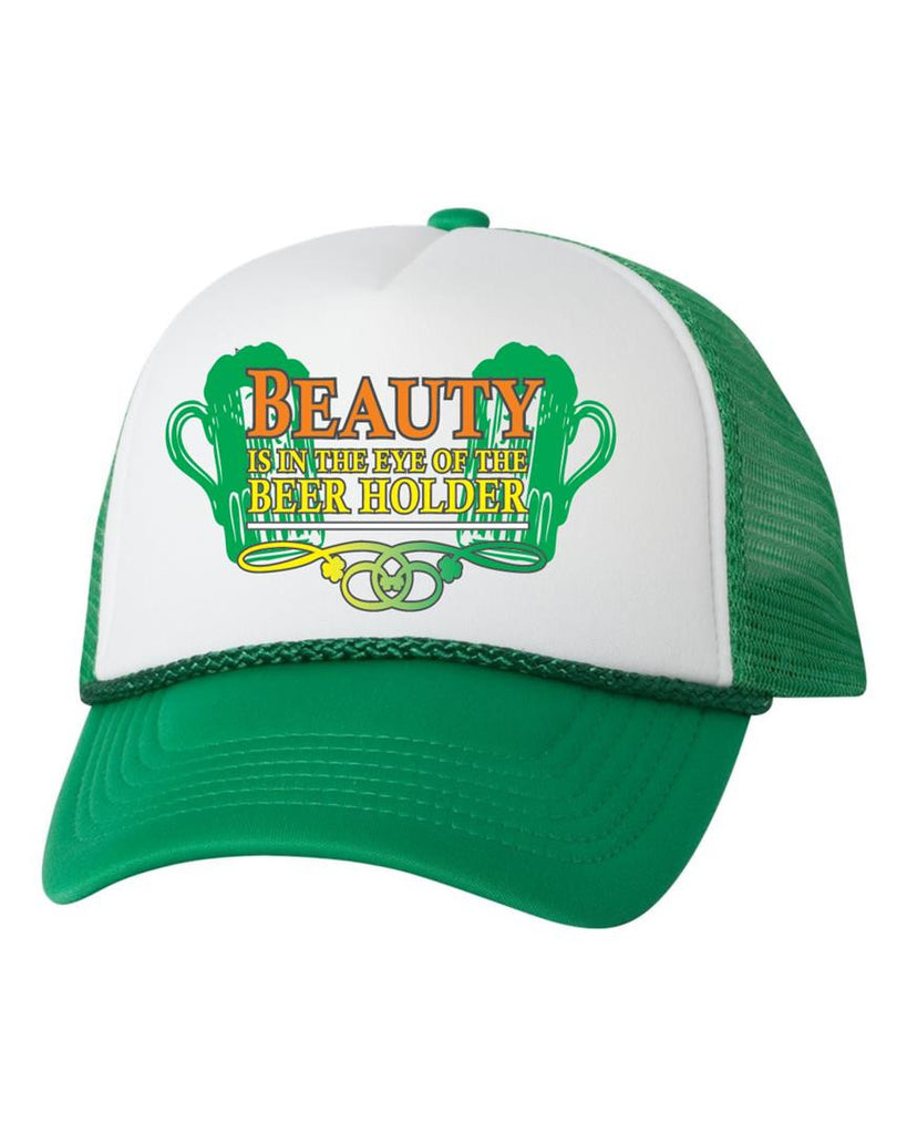 Beauty is in the eyes of the beer holder hat - ALLNTRENDSHOP