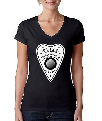 Ouija Shirt Board Se'ance Women's Sporty V Shirt - ALLNTRENDSHOP - 1