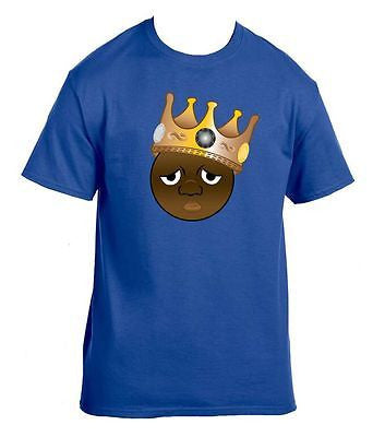The Notorious B.I.G. Biggie Emoji Men's T-Shirt - ALLNTRENDSHOP - 2