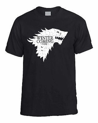 Winter Is Coming Stark Game Of Thrones Men's T-Shirt - ALLNTRENDSHOP