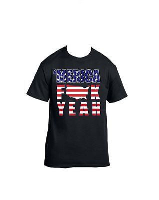 Merica F**k Yeah 4th of July T-Shirt - ALLNTRENDSHOP - 2