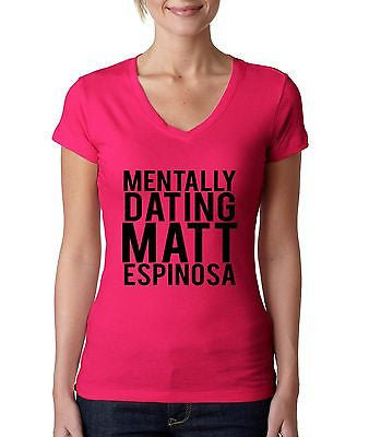 Mentally Dating Matt Espinosa Women's Sporty V Shirt - ALLNTRENDSHOP - 2
