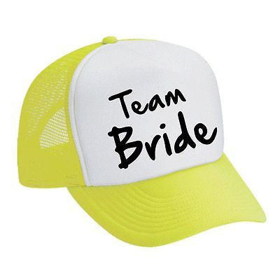 Team Bride Bachelorette party Dual color Trucker Cap - ALLNTRENDSHOP - 3