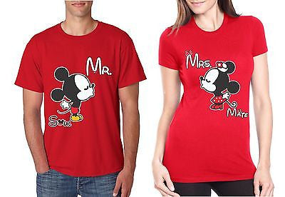 Couple T-Shirt MR MRS Soul Mate Valentine Day - ALLNTRENDSHOP