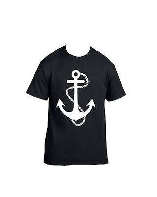 White Anchor T-Shirt - ALLNTRENDSHOP - 1