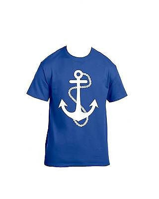 White Anchor T-Shirt - ALLNTRENDSHOP - 5