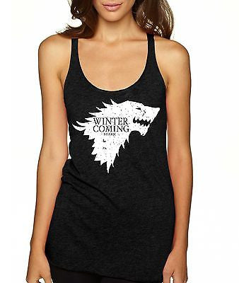 Winter Is Coming Women's Triblend Tanktop - ALLNTRENDSHOP