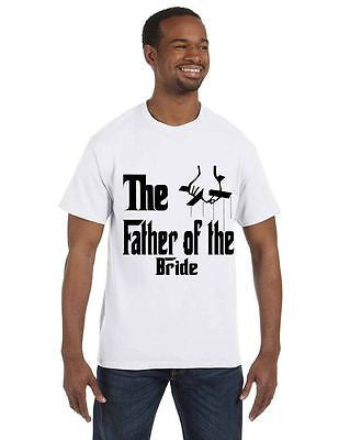 The Father Of The Bride Bachelor Bachelorette Party T-Shirt - ALLNTRENDSHOP - 1