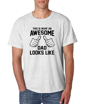 This Is What An Awesome Dad Looks Like Men's T-Shirt - ALLNTRENDSHOP - 1