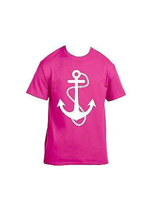 White Anchor T-Shirt - ALLNTRENDSHOP - 3