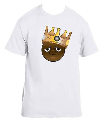 The Notorious B.I.G. Biggie Emoji Men's T-Shirt - ALLNTRENDSHOP - 3