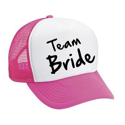 Team Bride Bachelorette party Dual color Trucker Cap - ALLNTRENDSHOP - 1