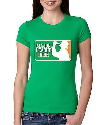 Major League Irish Saint Patricks Women's T-shirt - ALLNTRENDSHOP - 1