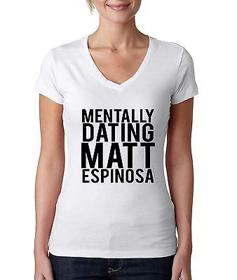 Mentally Dating Matt Espinosa Women's Sporty V Shirt - ALLNTRENDSHOP - 1